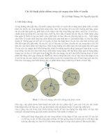 Các kỹ thuật phân nhóm trong các mạng cảm biến vô tuyến