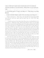 THỰC TẾ TỔ CHỨC HẠCH TOÁN CHI PHÍ SẢN XUẤT VÀ TÍNH GIÁ THÀNH TẠI CÔNG TY XÂY DỰNG SỐ 2- TỔNG CÔNG TY XÂY DỰNG HÀ NỘI.
