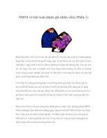 MBTI và bài toán đánh giá nhân viên (Phần 1)