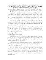 ĐÁNH GIÁ CHUNG VÀ 1 SỐ Ý KIẾN NHẰM HOÀN THIỆN CÔNG TÁC KẾ TOÁN CHI PHÍ SẢN XUẤT VÀ TÍNH GIÁ THÀNH SẢN PHẨM TẠI CÔNG TY CỔ PHẦN GIẦY HÀ NỘI