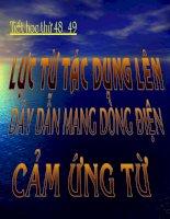 H2A.VL10_Luc tu tac dung len day dan mang dong dien