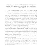 MỘT SỐ GIẢI PHÁP CƠ BẢN NHẰM DUY TRÌ VÀ MỞ RỘNG THỊ TRƯỜNG TIÊU THỤ SẢN PHẨM CỦA CÔNG TY CỔ PHẦN TẤM LỢP ĐÔNG ANH