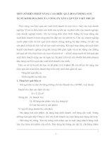 MỘT SỐ BIỆN PHÁP NÂNG CAO HIỆU QUẢ HOẠT ĐỘNG SẢN XUẤT KINH DOANH CỦA CÔNG TY XÂY LẮP VẬT TƯ KỸ THUẬT