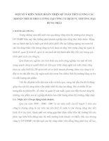 MỘT SỐ Ý KIẾN NHẰM HOÀN THIỆN KẾ TOÁN TIỀN LƯƠNG CÁC KHOẢN TRÍCH THEO LƯƠNG TẠI CÔNG TY DỊCH VỤ THƯƠNG MẠI HƯNG PHÁT