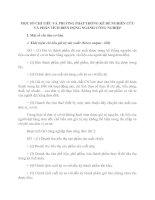 MỘT SỐ CHỈ TIÊU VÀ PHƯƠNG PHÁP THỐNG KÊ ĐỂ NGHIÊN CỨU VÀ PHÂN TÍCH BIẾN ĐỘNG NGÀNH CÔNG NGHIỆP
