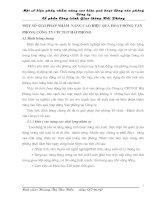 MỘT SỐ GIẢI PHÁP NHẰM  NÂNG CAO HIỆU QUẢ HOẠT ĐỘNG VĂN PHÒNG CÔNG TY CPCTGT HẢI PHÒNG