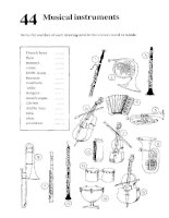 37320 Test Your Vocabulary - musical instruments