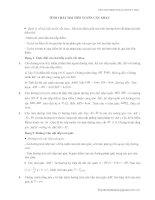 Bài Tập Rèn Luyện về tc 2 tiếp tuyến
