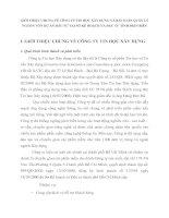 GIỚI THIỆU CHUNG VỀ CÔNG TY TIN HỌC XÂY DỰNG VÀ BÀI TOÁN QUẢN LÝ  NGUỒN VỐN DỰ ÁN ĐẦU TƯ TẠI SỞ KẾ HOẠCH VÀ ĐẦU TƯ TỈNH ĐIỆN BIÊN
