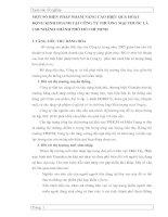 MỘT SỐ BIỆN PHÁP NHẰM NÂNG CAO HIỆU QUẢ HOẠT ĐỘNG KINH DOANH TẠI CÔNG TY THƯƠNG MẠI THUỐC LÁ CHI NHÁNH THÀNH PHỐ HỒ CHÍ MINH