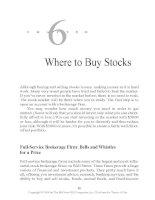 Where to Buy Stocks