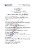Ngân hàng đề thi môn kinh tế vĩ mô học viện công nghệ bưu chính viễn thông