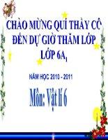 Bai 4 - Do the tich vat ran khong tham nuoc