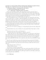 CƠ SỞ LÝ LUẬN VỀ HỆ THỐNG KIỂM SOÁT NỘI BỘ VÀ KIỂM SOÁT NỘI BỘ CHU TRÌNH CUNG ỨNG TẠI DOANH NGHIỆP