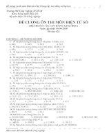Đề cương Vi xử lý (P1) - Hệ Trung cấp&Cao đẳng
