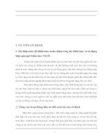 MỘT SỐ GIẢI PHÁP NHẰM NÂNG CAO HIỆU QUẢ SỬ DỤNG VỐN TẠI CÔNG TY TNHH ĐIỆN NISSIN VIỆT NAM