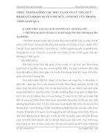THỰC TRẠNG CÔNG TÁC THU VÀ QUẢN LÝ THU QUỸ BHXH CỦA BHXH HUYỆN MỸ ĐỨC, TỈNH HÀ TÂY TRONG THỜI GIAN QUA