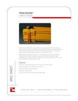 FiberGuide® Snap-Fit Junction