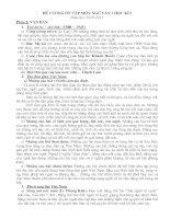 Đề cương ôn tập Ngữ văn 7 - HK 1