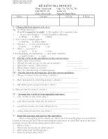 English 7 test 1,2