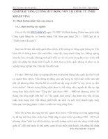 GIẢI PHÁP TĂNG CƯỜNG HUY ĐỘNG VỐN TẠI CÔNG TY TNHH KRAZE VINA