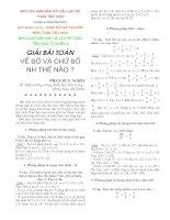 Dạy dạng toán về số và chữ số