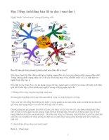 Học tiếng Anh bằng bản đồ tư duy