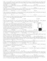 200 câu hỏi ôn thi đại học