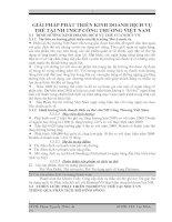 GIẢI PHÁP PHÁT TRIỂN KINH DOANH DỊCH VỤ THẺ TẠI NH TMCP CÔNG THƯƠNG VIỆT NAM