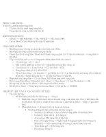 Tài liệu Excel bài 1