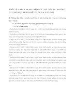 PHÂN TÍCH THỰC TRẠNG CÔNG TÁC TRẢ LƯƠNG TẠI CÔNG TY TNHH MỘT THÀNH VIÊN NƯỚC SẠCH HÀ NỘI