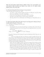MỘT SỐ GIẢI PHÁP NHẰM HOÀN THIỆN CÔNG TÁC TẠO ĐỘNG LỰC LAO ĐỘNG CHO NGƯỜI LAO ĐỘNG TẠI CÔNG TY CỔ PHẦN PHÁT TRIỂN QUỐC TẾ NAM VIỆT