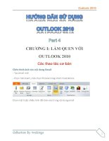 Hướng dẫn sử dụng Outlook 2010 part 4