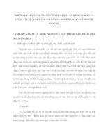 NHỮNG LÝ LUẬN CHUNG VỀ CHI PHÍ SẢN XUẤT KINH DOANH VÀ CÔNG TÁC QUẢN LÝ CHI PHÍ SẢN XUẤT KINH DOANH Ở DOANH NGHIỆP