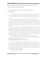 NHỮNG GIẢI PHÁP NHẰM  HOÀN THIỆN KẾ TOÁN CHO VAY TẠI  SGD NGÂN HÀNG TMCP HÀNG HẢI