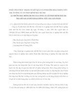 PHÂN TÍCH THỰC TRẠNG VỀ KẾT QUẢ VÀ TÌNH HÌNH HOẠT ĐỘNG TIÊU THỤ Ở CÔNG TY CỔ PHẦN KÍNH MẮT HÀ NỘI
