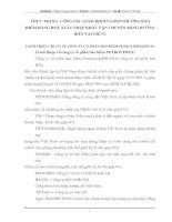 THỰC TRẠNG  CÔNG TÁC GIÁM ĐỊNH VÀ BỒI THƯỜNG BẢO HIỂM HÀNG HOÁ XUẤT NHẬP KHẨU VẬN CHUYỂN BẰNG ĐƯỜNG BIỂN TẠI PJICO