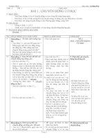 giáo án vật lý 8(bộ 2)