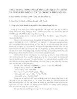 THỰC TRẠNG CÔNG TÁC KẾ TOÁN KẾT QUẢ TÀI CHÍNH VÀ PHÂN PHỐI LỢI NHUẬN TẠI CÔNG TY THAN NỘI ĐỊA