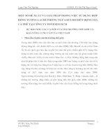 MỘT SỐ ĐỀ XUẤT VÀ GIẢI PHÁP TRONG VIỆC SỬ DỤNG HỢP ĐỒNG TƯƠNG LAI ĐỂ PHÒNG NGỪA RỦI RO BIẾN ĐỘNG GIÁ CÀ PHÊ TẠI CÔNG TY FONEXIM HCM