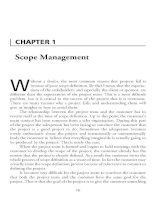 Project Management Professional-Chapter 1