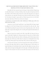 MỘT SỐ GIẢI PHÁP HOÀN THIỆN HÌNH THỨC TRẢ LƯƠNG TRẢ THƯỞNG Ở CÔNG TY DỆT KIM THĂNG LONG