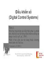 Bài giảng điều khiển số Digital control (bachelor)