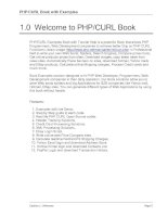 Welcome to PHP-CURL Book