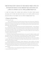 MỘT SỐ NHẬN XÉT VÀ ĐỀ XUẤT NHẰM HOÀN THIỆN CÔNG TÁC KẾ TOÁN BÁN HÀNG VÀ XÁC ĐỊNH KẾT QUẢ BÁN HÀNG TẠI CÔNG TY CỔ PHẦN VẬT TƯ NÔNG NGHIỆP PHÁP VÂN