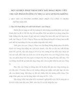 MỘT SỐ BIỆN PHÁP NHẰM THÚC ĐẨY HOẠT ĐỘNG TIÊU THỤ SẢN PHẨM Ở CÔNG TY NHỰA CAO CẤP HÀNG KHÔNG