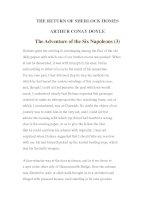 LUYỆN ĐỌC TIẾNG ANH QUA TÁC PHẨM VĂN HỌC-THE ADVENTURES OF SHERLOCK HOMES -ARTHUR CONAN DOYLE 15-3