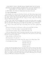 CHƯƠNG II THỰC TRẠNG HOẠT ĐỘNG SẢN XUẤT KINH DOANH VÀ HOẠT ĐỘNG MARKETING TẠI CHI NHÁNH HÀ NỘI CÔNG TY TNHH DỊCH VỤ HÀNG HÓA TOP
