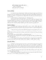 một số đề thi hsg lớp 9 tham khao