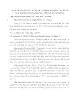 THỰC TRẠNG TỔ CHỨC KẾ TOÁN TẬP HỢP CHI PHÍ SẢN XUẤT VÀ TÍNH GIÁ THÀNH SẢN PHẨM TẠI CÔNG TY IN TÀI CHÍNH